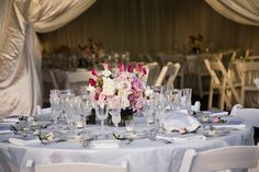 yikes, too much flashy draping||| Point Vicente Interpretive Center Wedding | Wayfarers & Point Vicente Interpretive Center Palos Verdes Wedding