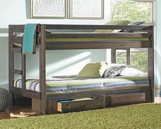 COASTER 400831/400832 WRANGLE HILL BUNK BED WITH STORAGE