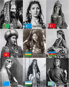 Islam In China, Tribes Of The World, Educational Websites, Family Genealogy, My Black Is Beautiful, Photos Of Women, Body Inspiration, Woman Face, Old Pictures