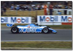 Jacques Laffite Talbot Ligier Matra JS17