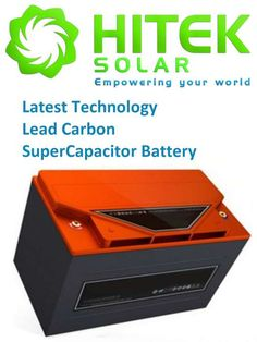 48v 200Ah (9.6kW) Lead Carbon SuperCapacitor (LCS Pb-C) Battery