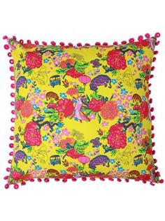 Oriental Party cushion cover