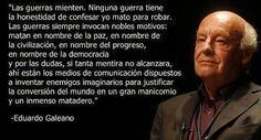 """Galeano: """"Dejemos el pesimismo para tiempos mejores"""""""