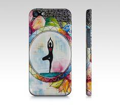 Étui I Pad mini, coque IPhone, étui Samsung fleurs multicolores par Marika Lemay artiste mixed media pour protéger et embellir un téléphone de la boutique MarikaLemayArtiste sur Etsy