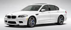BMW 2013 M5 Sedan…I better get a good job! White looks nice on a BMW.