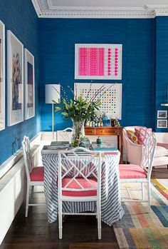 Jessica Buckley's fabulous Edinburgh flat (and you can stay there!) — The Pink House