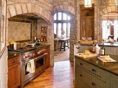Enclosed stove area?  Yes please