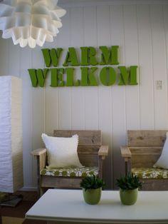 creative green interior design