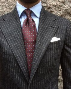 いいね!1,486件、コメント27件 ― Andreas Weinåsさん(@andreasweinas)のInstagramアカウント: 「16.09.28 - Chalkstripe, MTM Suit - @eidosnapoli through @marcusmalmborg, Shirt - @bergandberg, Tie…」