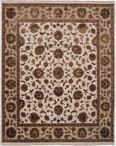 Mahal DesignIndian Rug Ivory Rugs, Indian Rugs, Colorful Rugs, Home Decor, Decoration Home, Room Decor, Home Interior Design, Home Decoration, Interior Design