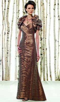 Cameron Blake Mother of the Bride Dress. Love the dress, HATE the jacket