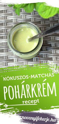 Gyors, könnyen elkészíthető édességre vágysz? Próbáld ki ezt a matcha tea porral készült frissítő, nyers krémet. Matcha, Cantaloupe, Protein, Tea, Fruit, Food, Essen, Meals, Eten
