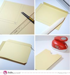 ¿Te gustaría aprender a realizar diferentes tipos de bolsillo para tus álbumes? Descubre en este post 5 tipos de bolsillos de papel muy fáciles de crear.