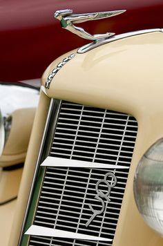 1935 Auburn Model 851 Supercharged Speedster Hood Ornament - by Jill Reger - fine art prints for sale