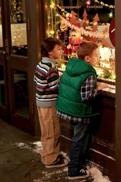 Holiday window shopping!