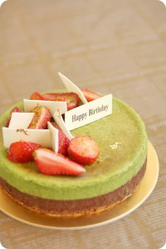 Matcha Chocolate Cheesecake