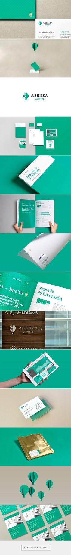 Asenza Capital by Firmalt Identity Branding, Brand Identity Design, Graphic Design Branding, Corporate Design, Corporate Identity, Visual Identity, Graph Design, Print Design, Moon Pool