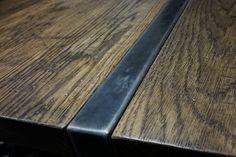 Unique dining and conference room tables made from wood, metal and special finishes customized to fit your needs. Custom Tables, Butcher Block Cutting Board, Conference Room, Dining Table, Metal, Wood, Design, Woodwind Instrument, Dinner Table