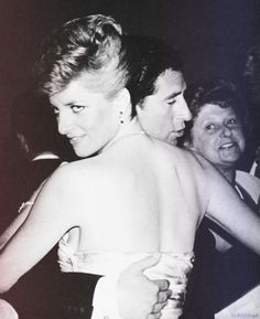 """The Look:  """"Take that, Camilla."""" Charles and Diana dancing in Australia 1988"""