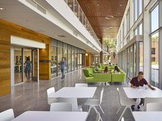The Greer Environmental Sciences Center's spatial and visual connections help create an inspiring sense of place on the VWU campus. Sense Of Place, Environmental Science, Virginia, University, Places, Home Decor, Homemade Home Decor, Colleges, Interior Design