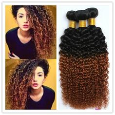 Cheap #1b 30 Mongolian Curly Hair Bundles Unprocessed Kinky Curly Hair Weave Ombre Mongolian Virgin Hair Afro Curl 300gBrazilian Weave Virgin Brazilian Hair Weave From Africagirl, $3.03| Dhgate.Com