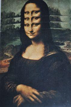 Les Mona's Lisa's (1969), Roman Cieslewicz
