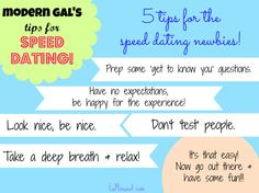 advice-on-speed-dating