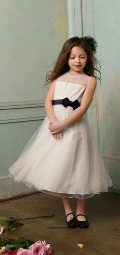 Seahorse Flower Girl Dress >> This style is so sweet!