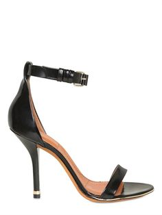 Givenchy - 100mm brushed calfskin sandals in black, €595 (VAT included)