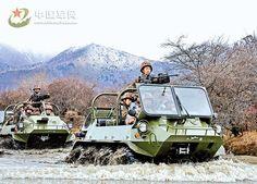Brigata di Fanteria da montagna del PLA  ha adottato leggermente blindato mini ATV