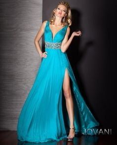 Satin Floor Length Gown Front, Style 157730