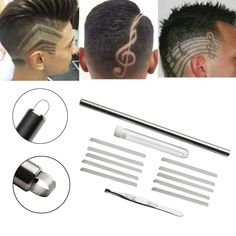 Cheap Styling Accessories, Buy Directly from China Suppliers:1 Set High Quality Shaver Salon Engraved Pen Stainless Steel Hair Styling Eyebrows Beard 10 Blades Styling Tools for Hair Caring
