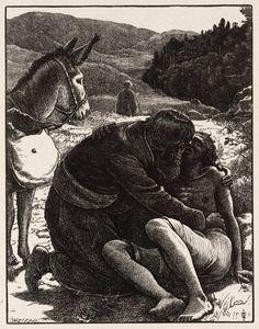 Sir John Everett Millais, Bt 'The Good Samaritan', published 1864