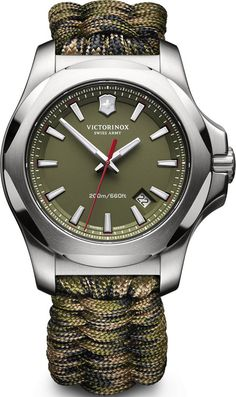 Victorinox Swiss Army Watch I.N.O.X. Paracord #add-content #bezel-fixed #bracelet-strap-synthetic #brand-victorinox-swiss-army #case-material-steel #case-width-43mm #classic #date-yes #delivery-timescale-call-us #dial-colour-green #gender-mens #movement-quartz-battery #new-product-yes #official-stockist-for-victorinox-swiss-army-watches #packaging-victorinox-swiss-army-watch-packaging #style-dress #subcat-i-n-o-x #supplier-model-no-241727-1…