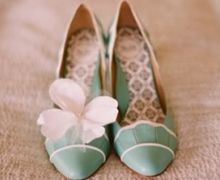 pale green shoes :)