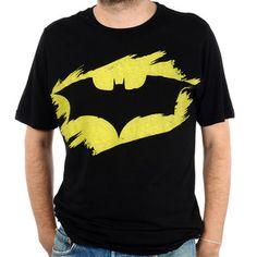 Batman Stencil Tee Black now featured on Fab.