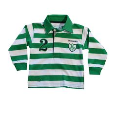 Shop for Irish Gifts, Wool & Aran sweaters, Irish Crystal and Celtic Jewelry and much more direct from Ireland at Blarney Woollen Mills Irish Rugby Shirt, Ireland Rugby Shirt, Baby Wearing, Baby Boy Outfits, Adidas Jacket, Polo Ralph Lauren, Boys, Girls, Mens Tops