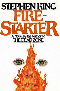 """""""Firestarter"""" is a science fiction novel by Stephen King, first published in September 1980. In July and August 1980, two excerpts from the novel were published in Omni. In 1981, Firestarter was nominated as Best Novel for the British Fantasy Award, Locus Poll Award, and Balrog Award. In 1984, the novel was adapted into a movie."""