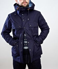 Nanamica Cruiser Jacket- Navy