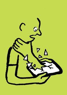 Cultura Inquieta - Allo? explora mediante inteligentes ilustraciones cómo nos comunicamos