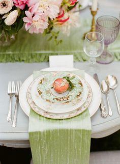 Romantic English garden wedding inspiration | photo by Tonya Joy | 100 Layer Cake