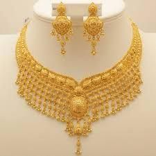 Gold Jewelry With Price Refferal: 9913812833 Dubai Gold Jewelry, Real Gold Jewelry, Gold Wedding Jewelry, Gold Jewelry Simple, Golden Jewelry, Bridal Jewelry, Gold Bangles Design, Gold Earrings Designs, Gold Jewellery Design