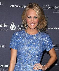 Carrie Underwood. Blue