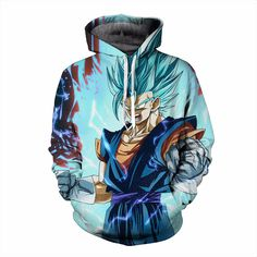 Dragon Ball Hoodie #5 (4 Models)   Tag a friend who would love this!   FREE Shipping Worldwide   Buy one here---> https://www.shenronstore.com/vegetto-blue-dragon-ball-z-hoodies-3d-hoodies-pullovers-sportswear-hooded-sweatshirts-mens-sleeve-son-goku-hoode-dragon-ball-z/