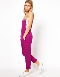 More overalls ^_^ This one is by ASOS! Bright color will make a statement for sure