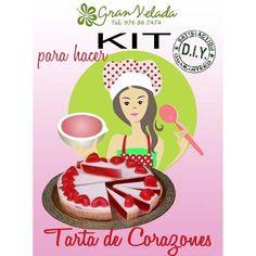 Kit para hacer jabón diy modelo Tarta de Corazones http://www.granvelada.com/es/kits-paso-a-paso-de-jabon-de-glicerina/196-aprender-a-hacer-jabones-kit-tarta-de-fresa.html?utm_source=Pinterest&utm_campaign=HacerAmbientadores&utm_medium=SOCIAL&utm_publish=RSS