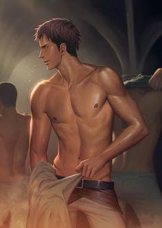 Attack on Titan ~~ Preparing for another hard day :: [ Jean by PenguinFrontier.deviantart.com on @deviantART ]