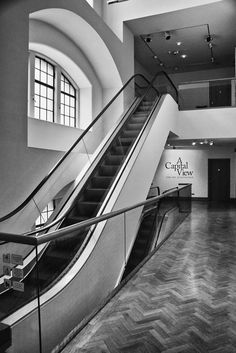 edinburgh art centre Black N White Images, Black And White, City Art, Edinburgh, Galleries, Centre, Art Gallery, Stairs, Around The Worlds