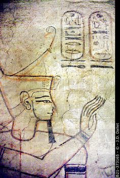Stock Photo: Decoration detail: Tomb of Setnakht, Kings Valley, Luxor West Bank, Egypt.