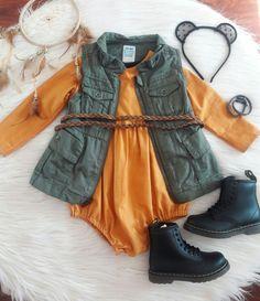 Baby toddler girl Autumn/fall outfit. Boho bohemian. Rocker baby. Dr. Martens. Doc Martens. Docs.
